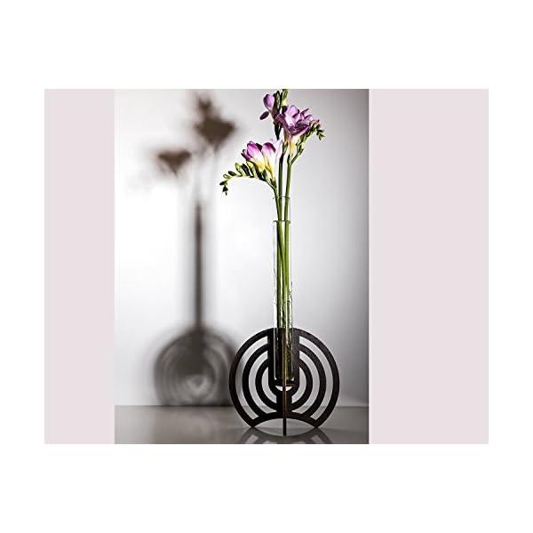 Modern Vase Wooden, Handmade Wooden Bud Vase, DIY Gift, Home Decor Vase, Couple Gift, Wood Gift Christmas, Housewarming Gift