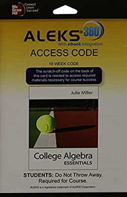 ALEKS 360 Access Card (18 weeks) for College Algebra Essentials