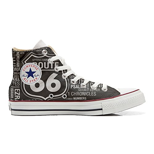 Star Produkt EU Handwerk Size mys Black Personalisierte Schuhe All Converse Route 42 Customized Unisex 66 gw1axU
