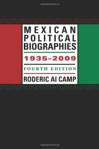 Mexican Political Biographies, 1935-2009: Fourth Edition (Llilas Special Publications)