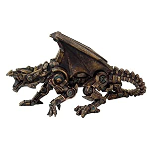 Pacific Giftware Steampunk Collection- Steampunk Dragon Sculptures Figurine