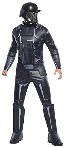 (Rogue One: AStar WarsStory Child's Super Deluxe Death Trooper Costume,)