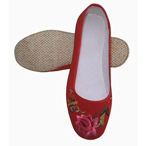 HGTYU Cotton Cloth Shoes Handmade Costume Shoes Old Single Shoes Casual Shoes Thirty-four IvUyr