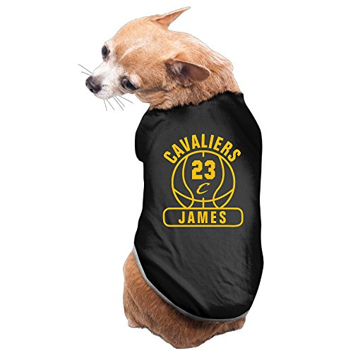 (Dogs Cleveland Cavaliers Champions LeBron James 23 Dog Clothes Tshirt)