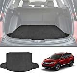 biosp Car Rear Trunk Mat Cargo Liner for Honda CR-V CRV 5th 2017 2018 2019 All Weather Black Heavy Duty Rubber Custom Fit-Waterproof-Odorless