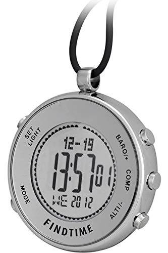 Pocket Watches Silver Digital