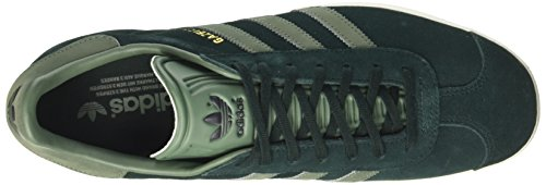 Zapatillas S17 F17 Gris Para trace Adidas Night gold Gazelle green Mujer Met Green Cwa0w5n6xv