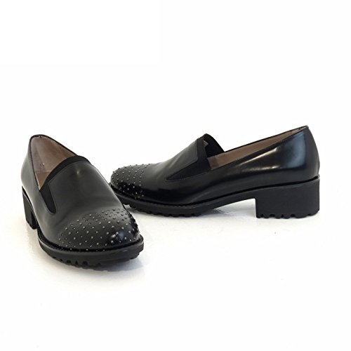 Just R0909 Style noir Mocassino Melluso Anglais Donna z1q4Sw8