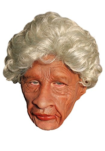 Zagone Auntie Mask, Wrinkled Old Black Woman]()