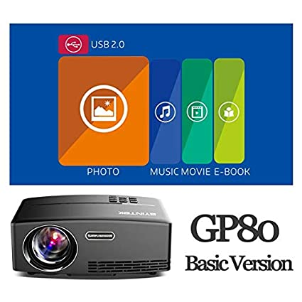 Amazon.com: LCD Projectors - Mini Projector for Full HD ...
