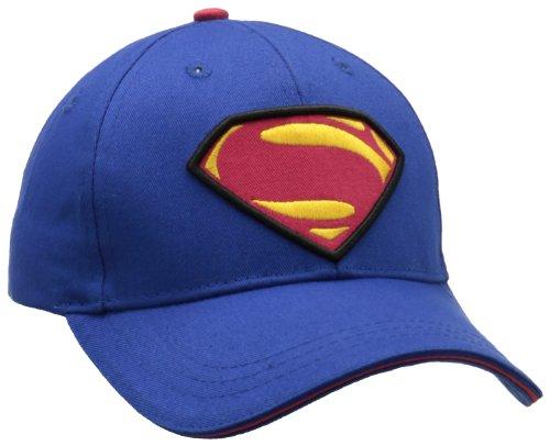 Berkshire Boys 8-20 Superman Logo Baseball Hat