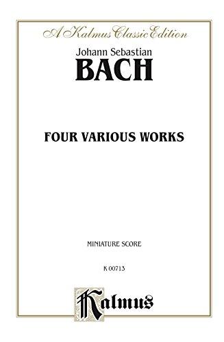 Six Suites for Cello Solo, Three Sonatas for Gamba and Clavier, Three Sonatas for Flute and Clavier: String - Cello Collection (Miniature Score) (Kalmus Edition)