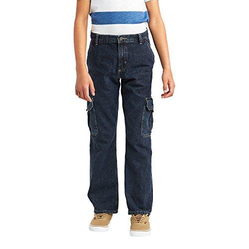 Cargo Boys Jeans - Wrangler Authentics Boys' Classic Cargo Pant, nocturne, 12