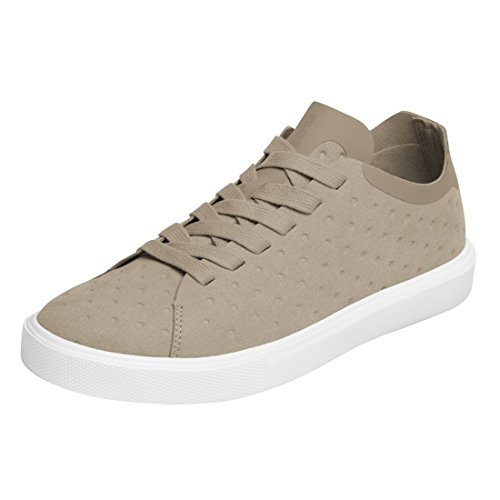 Inheemse Vrouwen Monaco Low Non Perf Fashion Sneaker Rocky Brown / Shell White