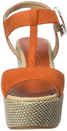 Unisa Luar_ks - Sandalias Mujer Naranja - Orange (CARROT)