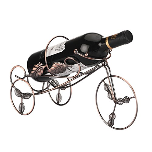 He Xiang Firm Iron wine rack decoration home bar wine rack retro wine rack display by He Xiang Firm
