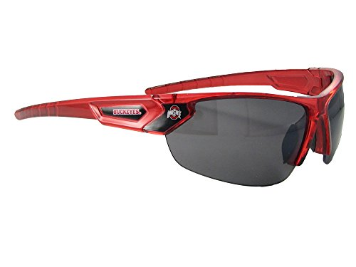 Ohio State Buckeyes OSU Red Transparent Sunglasses - Ohio Sunglasses