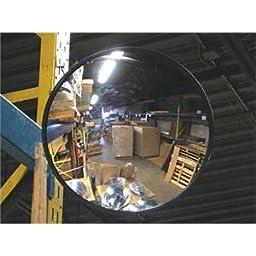 Vision Metalizers IC3000 Indoor Acrylic Convex Mirror, 30\