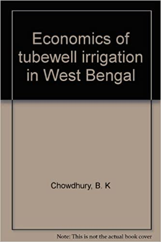 Economics of tubewell irrigation in West Bengal