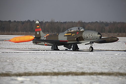 Posterazzi A T-33 Shooting Star trainer jet of the for sale  Delivered anywhere in USA