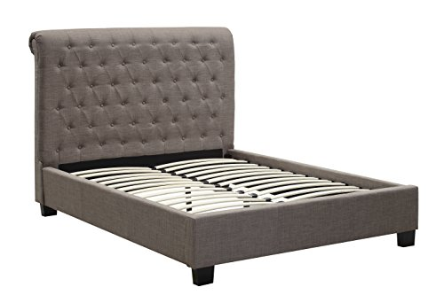 - Modus Furniture 3ZH3L711 Royal Tufted Platform Bed King Dolphin
