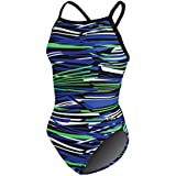 Dolfin Swimwear Styx V-2 Back - Blue/Green, 28