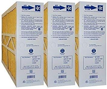 PRIME OEM PRODUCT Actual Size: 15-3//8 X 25-1//2 X 5-1//4 MERV 11 MEDIA FILTERS CASE OF 3 BRYANT M1-1056 GENUINE ORIGINAL 16x25x5