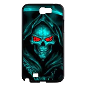 WKSHOP Beautiful Samsung Galaxy Note 2 N7100 case Of Skull Customized Bumper Plastic Hard Case wk209409