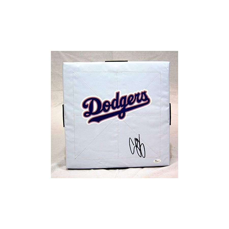 Corey Seager Los Angeles Dodgers Autographed Signed Full Size Base JSA