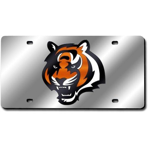 Cincinnati Bengals NFL Silver Laser License - Cincinnati Shopping Outlets