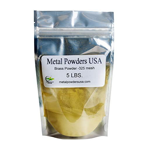 for Cold Casting and Inlay Work Brass Powder 1-lb 454 Grams 320 Mesh //