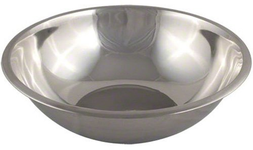 American Metalcraft SSB1300 Stainless Steel Mixing Bowl, 16'' Diameter, Silver, 13-Quart