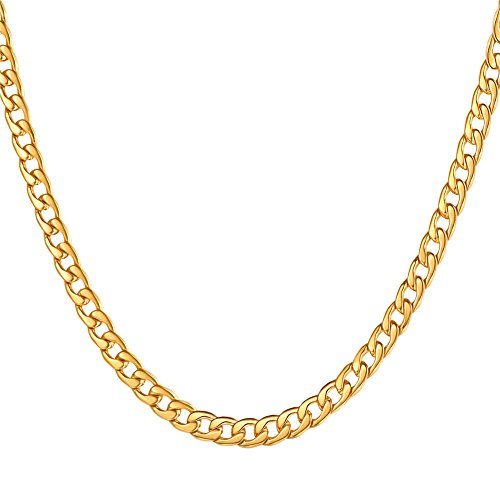 U7 Stainless Chains Necklace Length