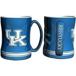 Kentucky Wildcats Coffee Mug - 14oz Sculpted Relief