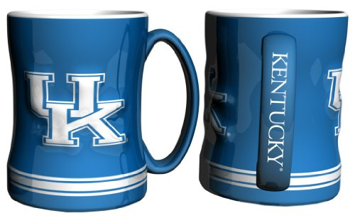 Kentucky Wildcats Coffee Mug - 14oz Sculpted Relief