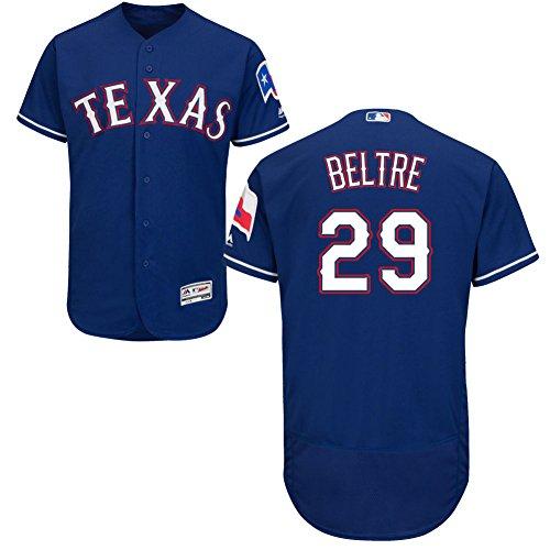 29 Adrian Beltre Jersey Baseball Jerseys Mens Blue Size M