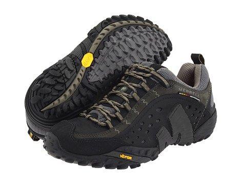 (メレル) MERRELL メンズランニングシューズスニーカー靴 Intercept [並行輸入品] B074RGXYDV 31.0 cm Smooth Black Leather