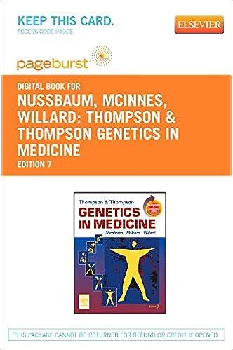 Thompson & Thompson Genetics in Medicine E-Book (Thompson and Thompson Genetics in Medicine)