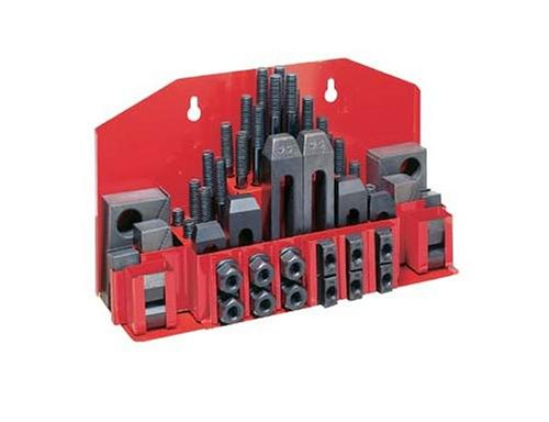 JET CK-58 52-Piece Clamping Kit with Tray for 3/4-Inch T-slot