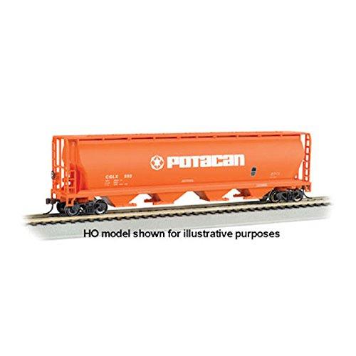 (Bachmann Industries Potacan Canadian 4-Bay Cylindrical Grain Hopper Car (N Scale))