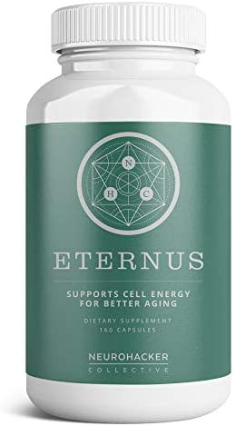 Eternus – Cell Energy for Better Aging Comprehensive Cell Food Supplement Niagen NAD Booster 40 Capsules