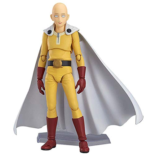 - Tianmeijia Anime Saitama One Punch Man Figma #310 PVC Action Figure Collectible Toys Model