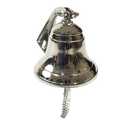 Coastal Space Designs AL 1843R-VC Wall Hanging Ship Bell 4