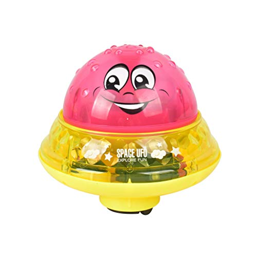 CCFAMILY Baby Play Bath Toy Infant Children's Electric Induction Sprinkler Lamp Water Toy
