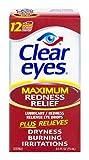 Clear Eyes Maximum Strength Redness Relief, 0.5 Fluid Ounce