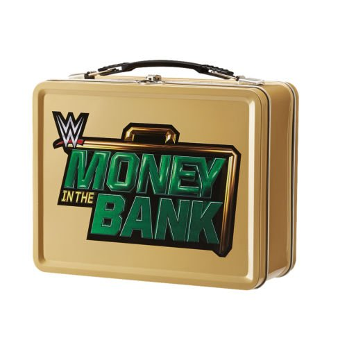 MONEY IN THE BANK TIN LUNCH BOX BRIEFCASE CASE WWE WRESTLING REPLICA OFFICIAL by Unbranded*
