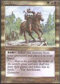 Magic: the Gathering - Adun Oakenshield - Legends by Magic: the Gathering