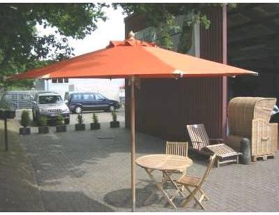 AAT Teak Style GmbH Premium jardín Pantalla/sombrilla con herrajes ...