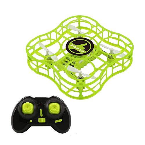 Ikevan 1x RC Drone Mini Drone Headless Mode Altitude Hold RC Quadcopter RTF One Key Return Kids Gift (Green)