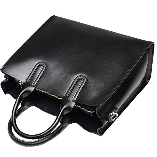 à Messenger HJLY Cuir Sac Capacité Sac Grand Simple Bag Bandoulière à En 2018 Leather Noir Napa Sac Main Dames Cuir Grande En HwBxHS6qp